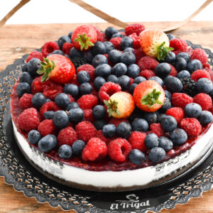 Tarta cheesecake de frutos rojos El Trigal