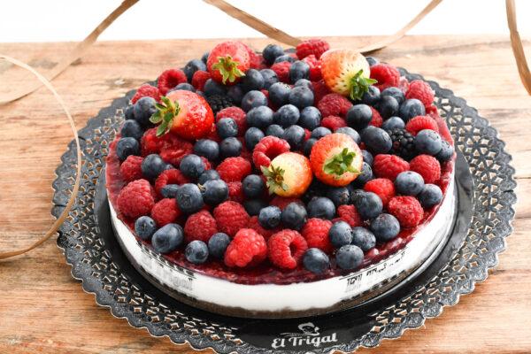 Tarta cheesecake de frutos rojos El Trigal