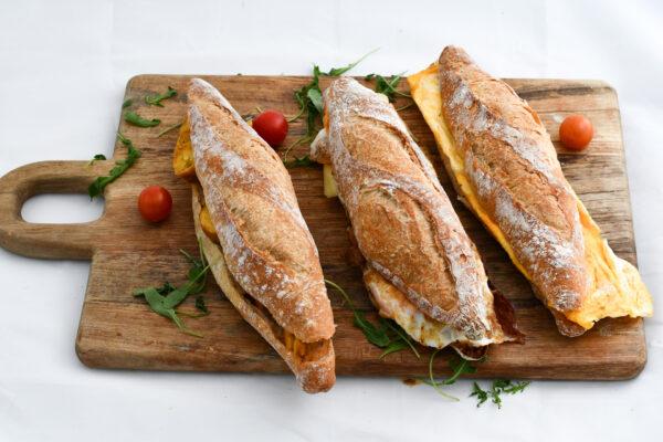 Bocatas de tortilla y tortilla francesa El Trigal