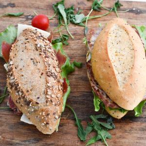 Bocatas panes especiales El Trigal